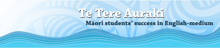 Te Tere Auraki - Māori students' success in English-medium.